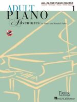 Adult Piano Adventures All-In-One Course Book 1 *NEW* Music Spiral Bound