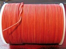 Top Quality 2mm Supple Antique  Goat Leather Cord ( Antique Red )