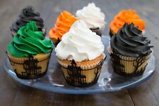 Halloween Haunted House Cucake Wrappers 50 Pc School Parties Special Occasions