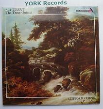 SDD 185 - SCHUBERT - Trout Quintet CURZON Vienna Octet - Excellent Con LP Record