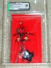 Vintage Gi Joe 1989 AFA 85 Snake Eyes V3 Hasbro Series 8 Back Card MOC CLR ARAH