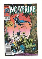 Marvel Comics  Wolverine issue # 5  (1989)
