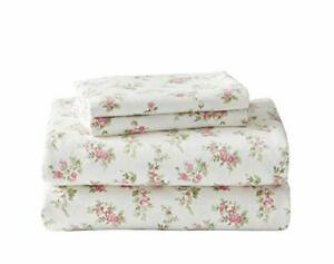 Laura Ashley Home | Flannel Collection |100% Premium Cotton Bedding Sheet Set...