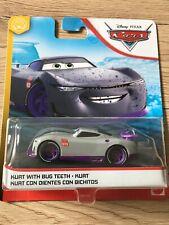 VOITURES DISNEY PIXAR CARS Kurt with bug teeth 2020 blue desert