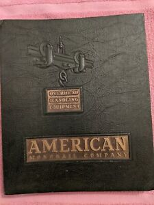 AMERICAN MONORAIL COMPANY Catalog, Overhead Handling Equipment, 1938, 254 Pages