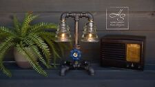 """The """"Policeman"""" Edison Industrial Pipe Lamp Vintage Modern Home Office Man Gift"""