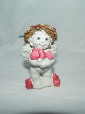 Dreamsicles . Handful of Hearts Dc204 Cherub Angel . 1994 Figurine . Signed