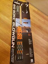 New Cold Steel Big Bore Blowguns Blow Gun Starter Kit as Seen