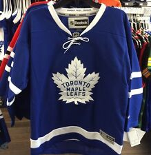 Toronto Maple Leafs Ages 8 to 12 NHL Hockey Jersey Home Blue Reebok Youth S/M