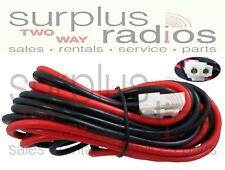 Power Cable For Kenwood Mobile TK7180 TK8180 TK7302 TK8302 TK7360 TK8360 TK6110