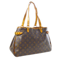 LOUIS VUITTON BATIGNOLLES HORIZONTAL SHOULDER BAG PURSE M51154 SA4028 A54455