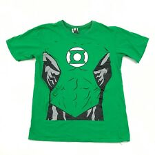 Green Lantern T Shirt Adult Extra Large XL short Sleeve Uniform Tee Relaxed Fit