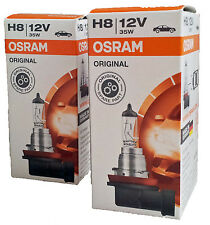 H8 OSRAM Original Spare Part 12V 35W PGJ19-1  MADE in GERMANY 2st Packung 64212