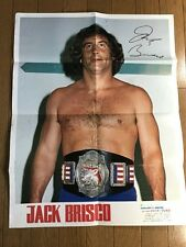 Jack Brisco Poster from Japan Champion Wrestling