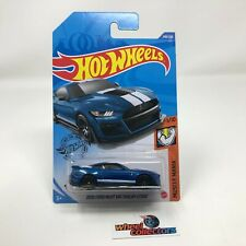 2020 Ford Mustang Shelby GT500 #248 * Blue * 2020 Hot Wheels * WF14