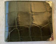 Paul Smith Billfold – Italian Leather – Sterling Silver Edges