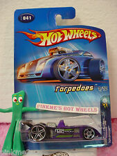 2005 #1 FE Hot Wheels TOR-SPEEDO #041/41☆Purple; PR5☆Torpedoes First EdITIONS