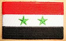 SYRIA Country Flag Embroidered PATCH Badge