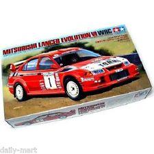 Tamiya 1/24 24220 Mitsubishi Lancer Evolution VI WRC Model Kit