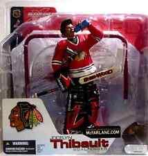 McFarlane Sports NHL Hockey Series 4 Jocelyn Thibault Variant Action Figure .