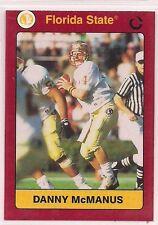 1991 Collegiate Collection Danny McManus Florida State