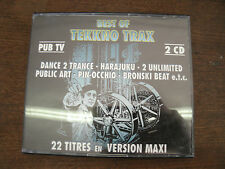 BEST OF TEKKNO TRAX   Compil 2CD
