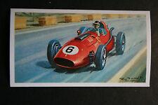 Ferrari Dino 246   Mike Hawthorn   1958 Morocco GP     Motor Racing Card  VGC