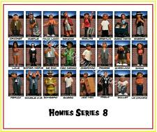 Homies series 8 -  24 different figures,  great for 1:32 dioramas HTF ( loose )