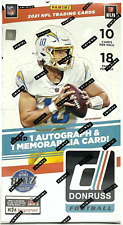 (1) ONE 2021 Panini Donruss Football Hobby Pack - New and Sealed Pack!