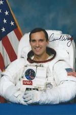 Carl Walz autographed Astronaut Expedition 4 NASA RARE COA LOOK!