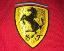 Womens Ferrari Red Polo Nwot Size Small Fast Scuderia Look Rare Logo New No Tag