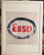 Mario Schifano litografia cm.50 x 70 no schifano festa rotella