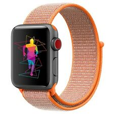 For Apple Watch iWatch Series 5 4 3 21 Nylon Woven Sport Loop Band Strap 38-44mm