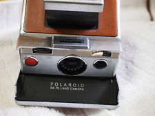 Vintage Polaroid SX-70 Instant Folding Land Camera & accessories