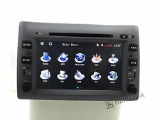 "8"" HD Car DVD Player GPS Navi Sat Nav iPod RDS IPOD For Fiat Stilo 2003 - 2010"