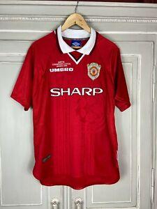 MANCHESTER UNITED 1999 CL Winners size M jersey shirt