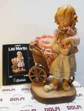 "1989 Roman Inc. DOLFI Original Lisi Martin 5"" Real WOOD Figurine 42691 179/5000"