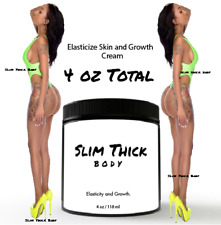 SLIM THICK BODY Vitamin E cream Lotion stretch breast enhancement bigger Butt