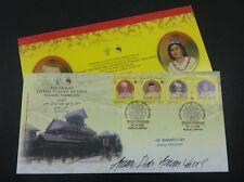 Sultan Negeri Sembilan King Royal Palace Malaysia 2009 (FDC) *signed *rare