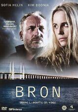 4  DVD TV-Serie aus Schweden SCHWEDISCH: BRON Die Brücke Säsong Staffel 1 NEU