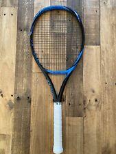 Yonex Ezone 98 Blue 4 1/4 Tennis Racquet + Luxilon Lxn Smart Strings