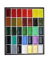 Watercolor Kissho Gansai Paint 35 Colors Set Free Shipping w/Tracking# New Japan