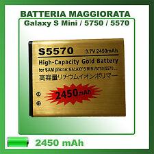 BATTERIA MAGGIORATA ALTA CAPACITA EB494353VU X SAMSUNG GALAXY S5570 S5750