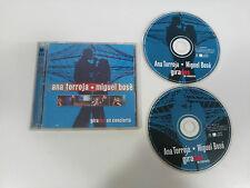 ANA TORROJA MIGUEL BOSE GIRADOS EN CONCIERTO 2 X CD 2000 WEA GERMAN EDITION