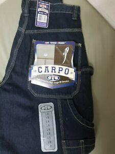 Vintage Boys OTB Carpenter/Cargo Denim Jeans.