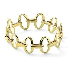 IPPOLITA Classico Glamazon 18K Yellow Gold Small Oval Link Bracelet(Authentic)