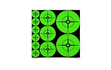 Birchwood Self Adhesive Target Spots High Contrast Green Assortment 33938