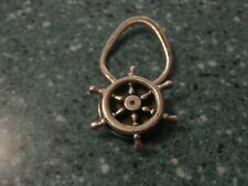 Sterling Silver Vintage nautical Key Ring Reduced Today