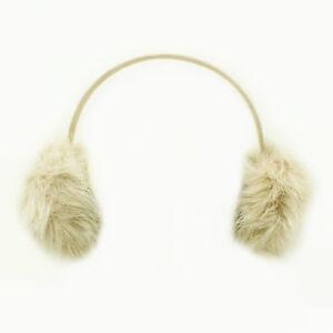 Womens Ladies Winter Ear Muffs Mink Luxury Faux Fur Warmers Headband