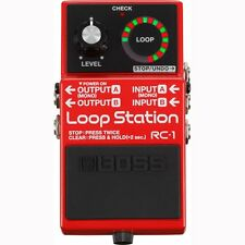 BOSS RC-1 Loop Station Stereo Looping Footswitch Guitar Effects Stompbox Pedal
